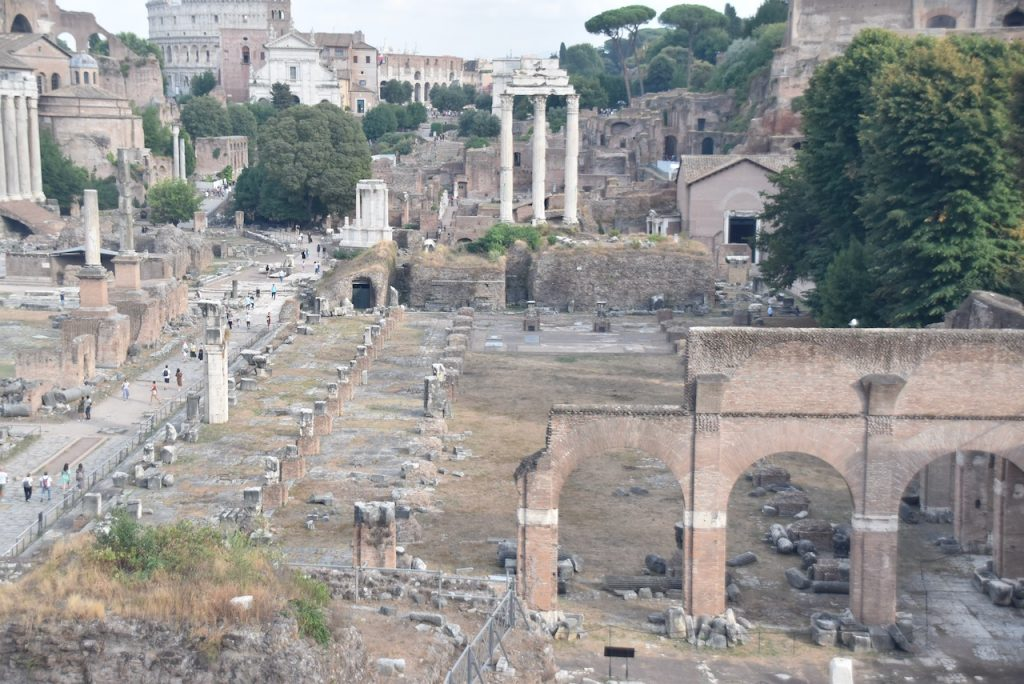 Roman Forum Basilica of Julia John DeLancey