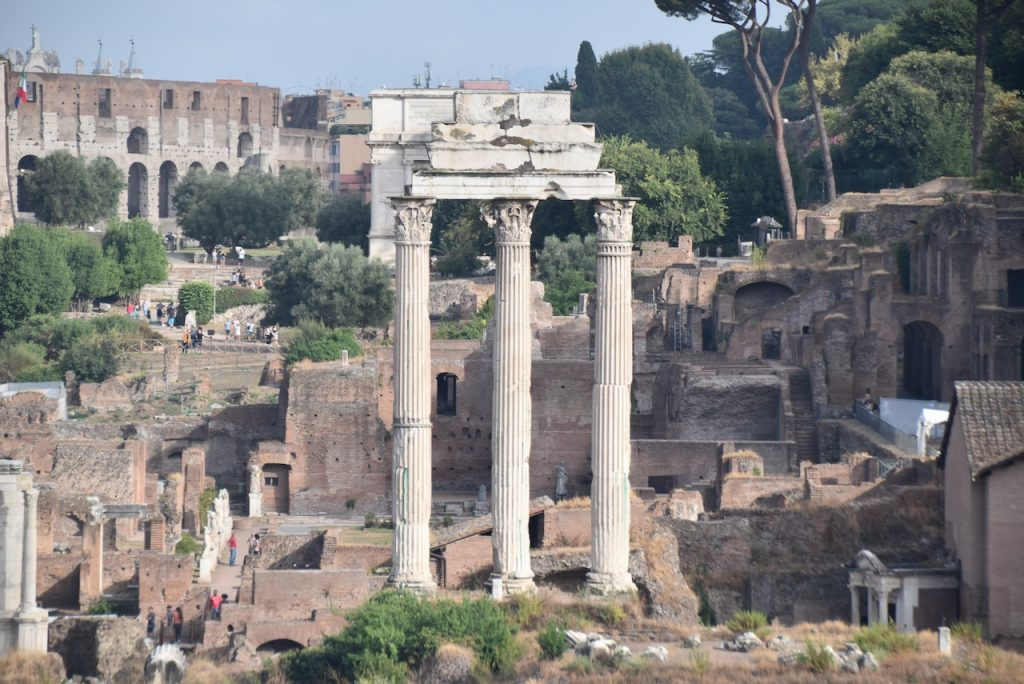 Temple of Castor and Pollux Roman Forum Acts 28 John DeLancey