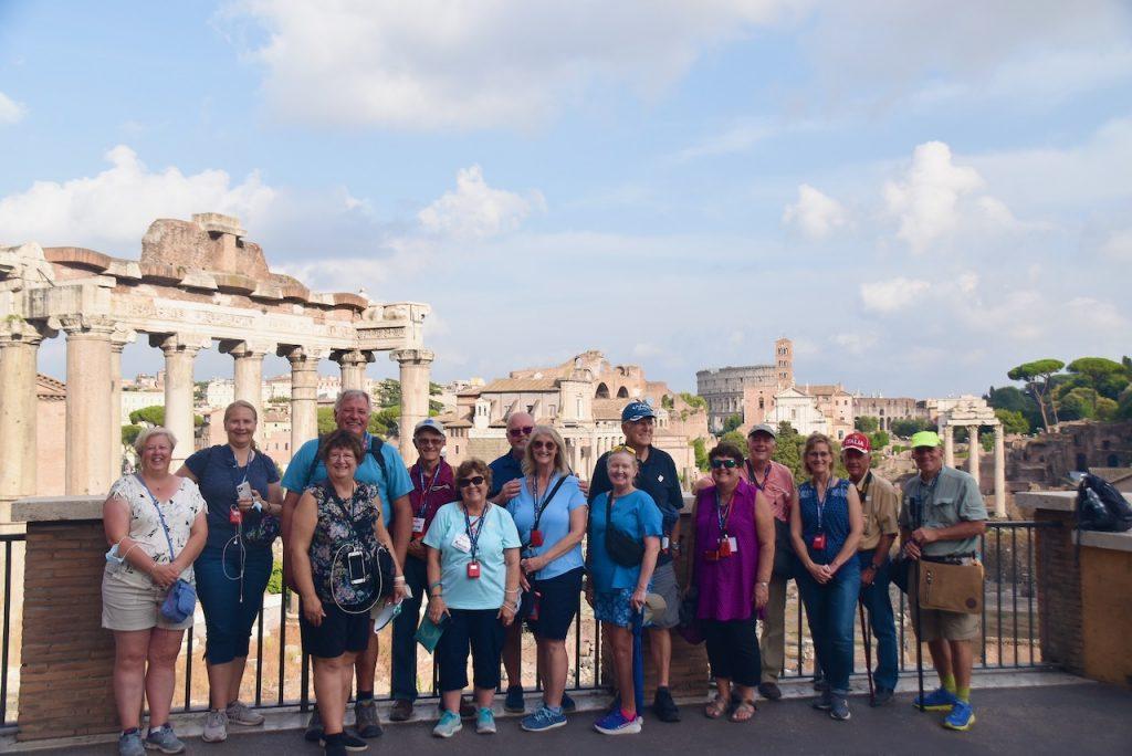 Roman Forum Rome Sept 2021 Group John DeLancey