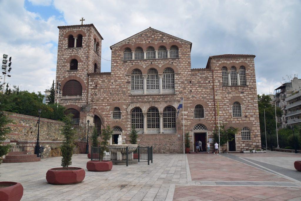 Church of St. Demitrius Thessaloniki