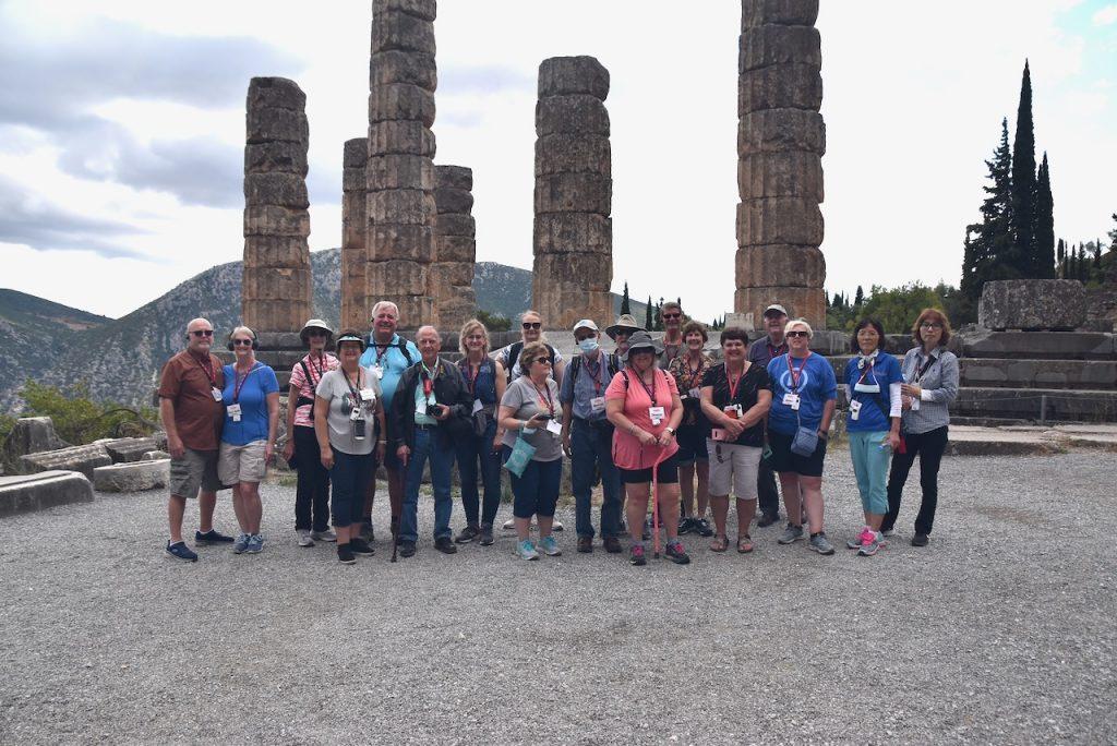 Delphi Greece 2021 Tour with Dr. John DeLancey