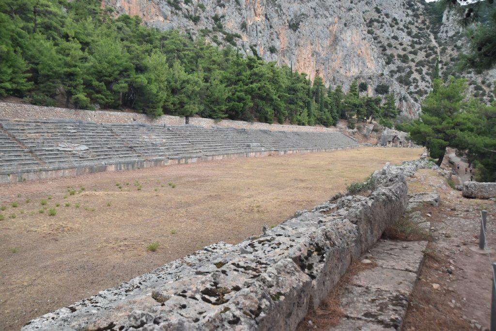 Stadium Delphi Greece Tour 2021 Dr. John DeLancey
