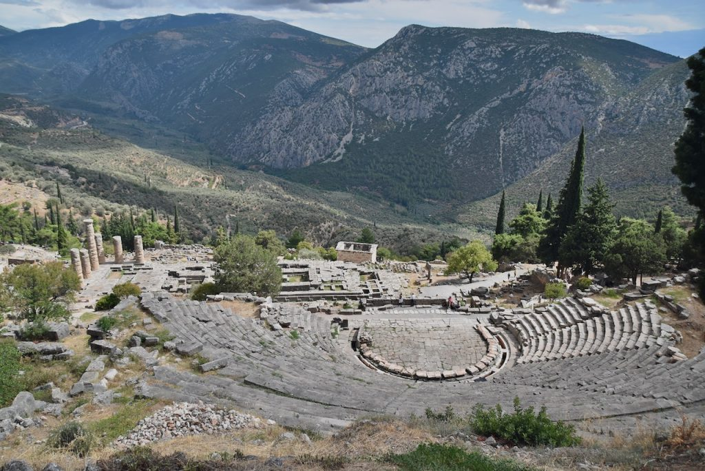 Theater Delphi Greece Tour 2021 Dr. John DeLancey