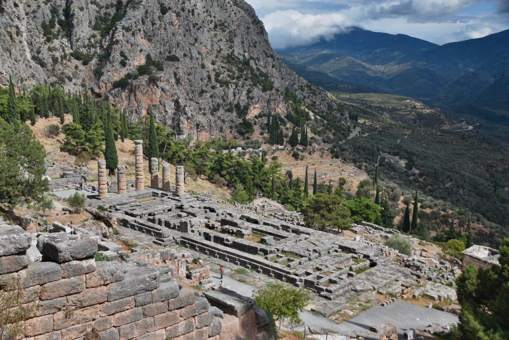 Delphi Greece Tour 2021 Dr. John DeLancey